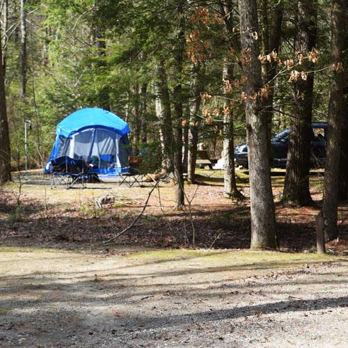 George Washington Memorial Campground Rhode Island