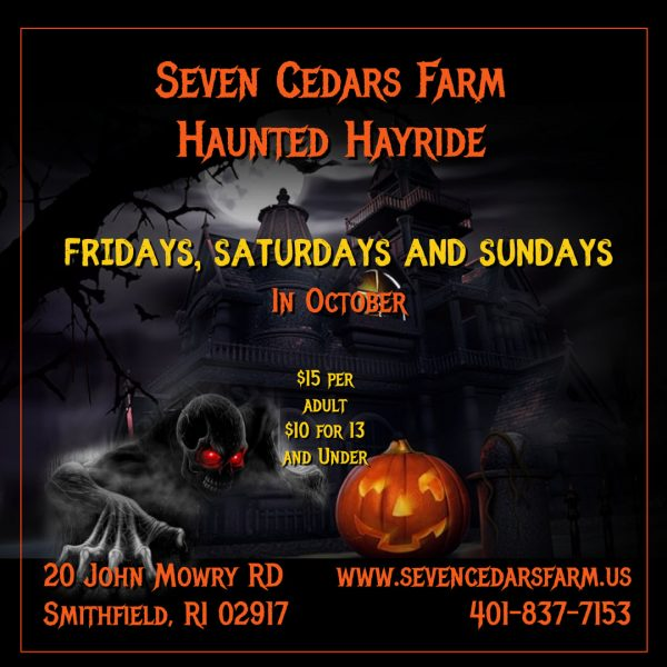 All Events For Haunted Hayride Blackstone Valley Tourism